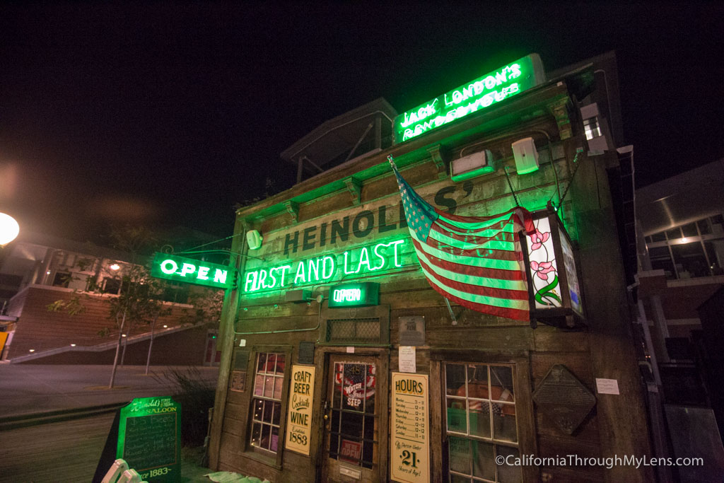 Heinold S Is A Famous Bar In Jack London Square With Over Century Of History This Small One Room Spot Was Even An Inspiration For Some