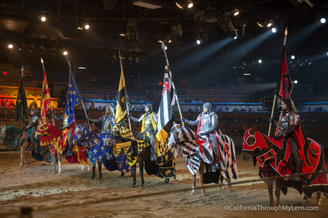 Travel to an entirely different time while vacationing in Anaheim with the Medieval Times Dinner & Tournament. You're sure to be thoroughly entertained throughout your experience, from the four-course medieval meal served without silverware to the action-packed battles between the six competing knights.