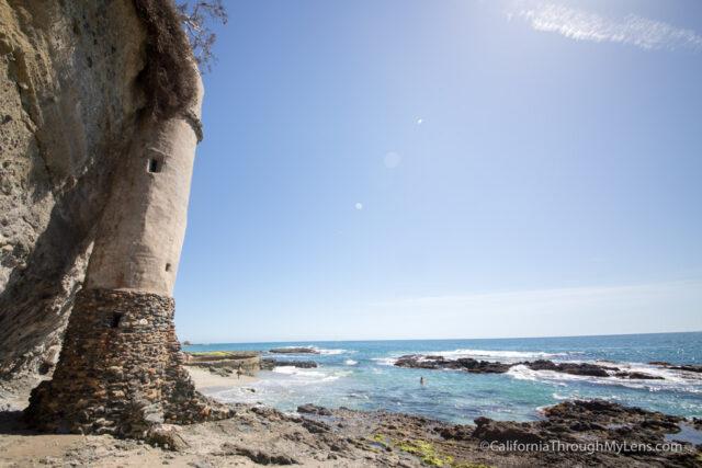 Pirate Tower  Victoria Dr Laguna Beach Ca
