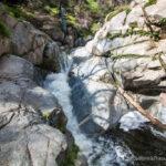 Hermit Falls in Santa Anita Canyon & Sturtevant Falls