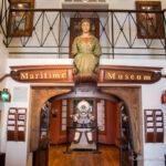 Maritime Museum in the Santa Barbara Harbor