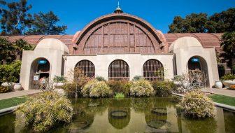 Botanical Gardens Building in Balboa Park, San Diego