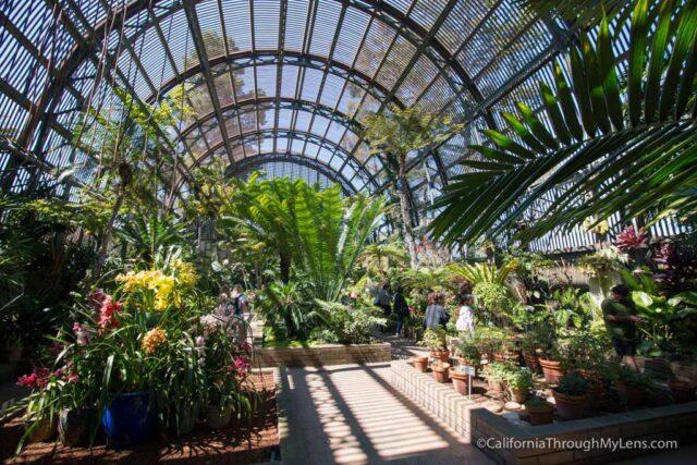 Botanical Gardens Building In Balboa Park San Diego