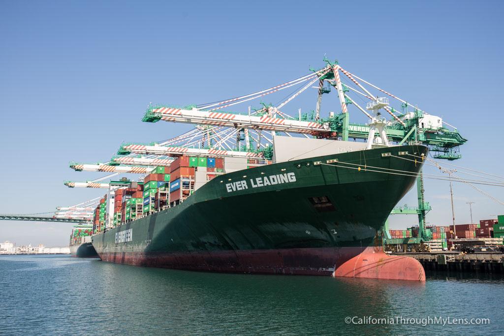 La Waterfront Harbor Tour Shipping Containers Vincent