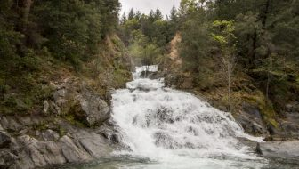 Crystal Creek Falls in Whiskeytown National Recreation Area