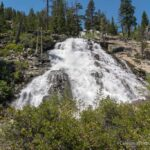 Lower Eagle Falls in Emerald Bay State Park