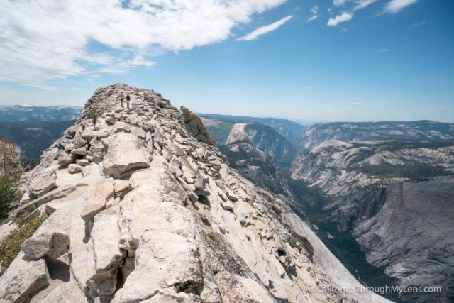 Clouds Rest Is One Of The Best Views In All Yosemite National Park It Looks Down On Half Dome From A Vantage Point 1 000 Feet Above And You Can See