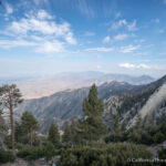 Desert View Trail in the San Jacinto Wilderness from Palm Springs Tram