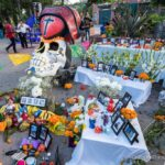Day of the Dead Festival on Olvera St in Downtown Los Angeles