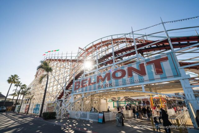 Belmont Park Wooden Roller Coaster Amp Rides In Mission