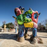 Queen Califia Magical Circle Sculpture Garden in Escondido