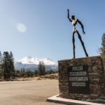 Living Memorial Sculpture Garden on Highway 97