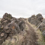 Captain Jacks Stronghold in Lava Beds National Monument