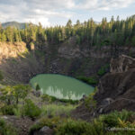 Inyo Craters Hike in Mammoth Lakes