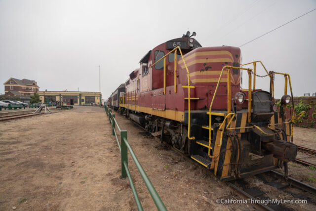 Riding the Skunk Train and Visiting the Model Train Museum in Fort Bragg